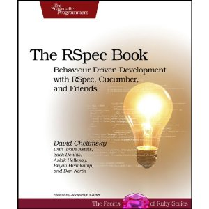 The RSpec Book Behaviour Driven Development with Rspec, Cucumber, and Friends