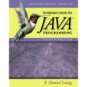 Introduction to Java Programming Comprehensive 8th Edition