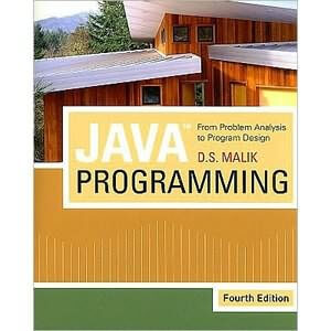 Java Programming: From Problem Analysis to Program Design, 4th Edition
