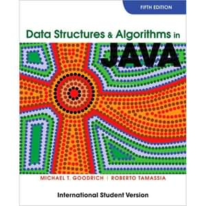 Data Structures and Algorithms in Java, 5th Edition
