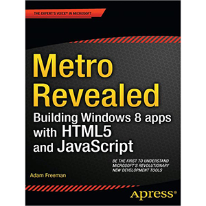 Building Windows 8 apps with HTML5 and JavaScript
