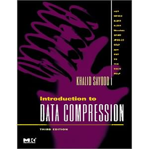 Introduction to Data Compression, 3rd Edition