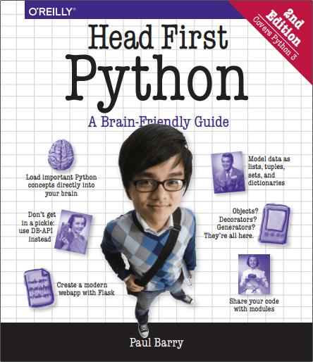 Head First Python 2nd Editions HD PDF