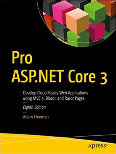 Pro ASP.NET Core 3, 8th Edition